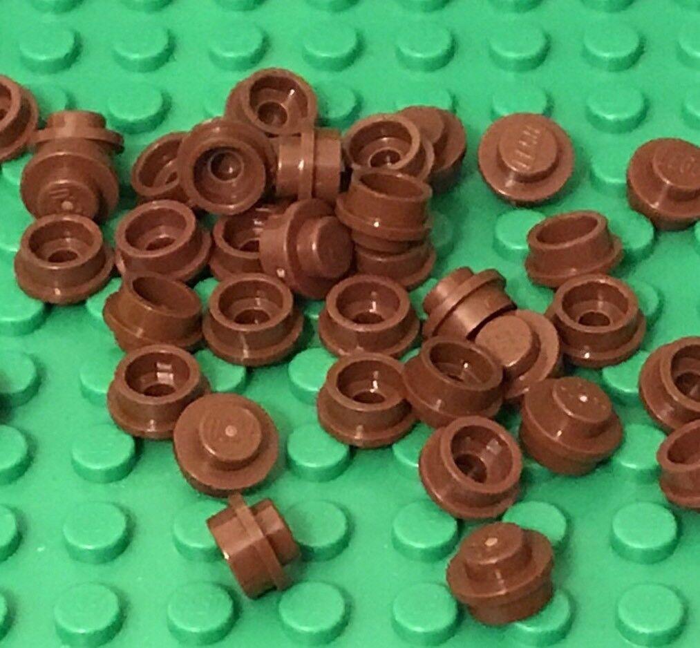 LEGO® Bulk Parts Constructibles® x100 Transparent Red 1x1 Plates 3024