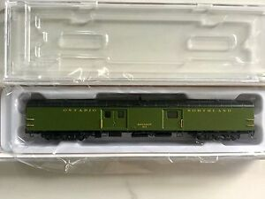 RAPIDO 1/160 N SCALE ONTARIO NORTHLAND 73' BAGGAGE EXPRESS CAR #411   506517 F/S