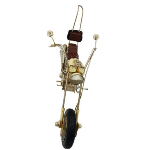 DynaSun Art Vintage Metall-Motorradmodell Retro Kollektion Oldtimer 1 6 33 cm