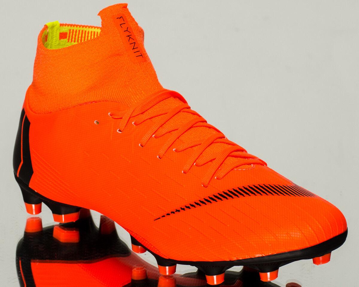 Nike volubile superfly vi pro ag-pro uomini gli scarpini da calcio nuove ah7367-810 arancione