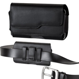 Modes-Premium-Leather-Belt-Clip-Case-Pouch-Holster-with-Otterbox-Defender-on-it