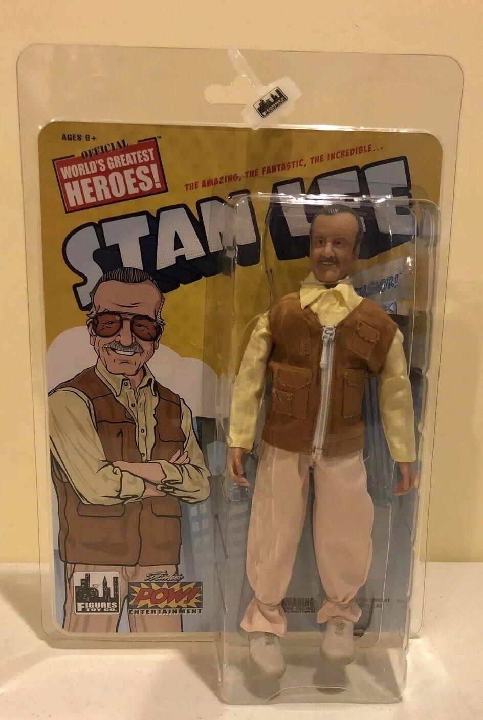 Stan Lee Chaleco Marrone 8 pulgadas retro versión Figura Juguete 75 años-Company
