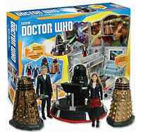 Dr Who Into The Dalek Value Set Collection Moving Rusty Clara Figure – Bnib