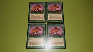 Carnassid x4 - Stronghold - Magic the Gathering MTG 4x Playset