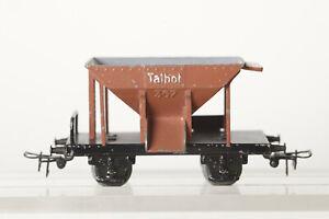 Märklin H0 Ballastière Talbot 367 Fonte Intérieur Gris Glissière Marron (117512)