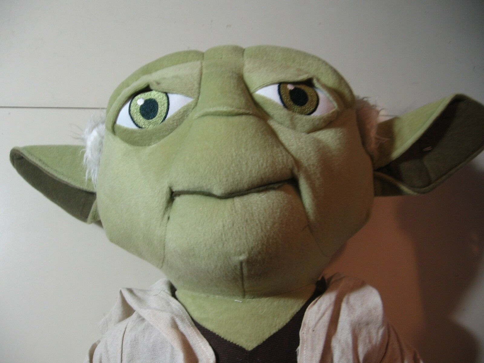 21  plush jumbo Yoda doll, from Star Wars, good condition