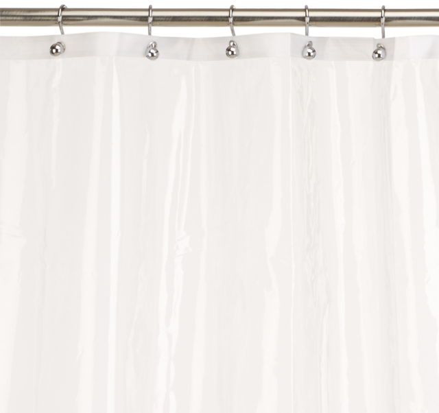 Carnation Home Fashions 10 Gauge Peva 72 By 84 Inch Shower Curtain Liner X L