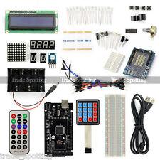 SainSmart Mega2560 R3 + LCD 1602 + Prototype + Keypad Starter Kit for Arduino US