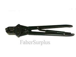 Amp 59500 Crimper W 45065 2 Die Surplus Crimping Tool Ebay