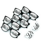 1 pcs Bridesmaid & Maid of honor Sunglass Wedding Party Supplies Bridal Glasses