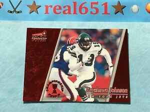 1998-Aurora-Championship-Fever-Red-35-KEYSHAWN-JOHNSON-Jets-SP-Parallel