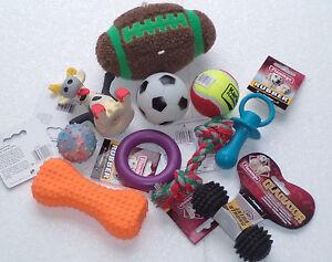 10 teiliges Hundespielzeug Set für kleine Hunde/Welpen stück nur 1,55 €