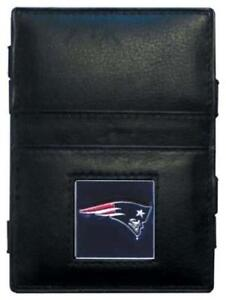 New NFL New England Patriots Leather Wallet  Ladder Style Magic Wallet __B47