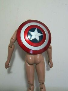 1-6-Scale-Captain-America-Shield-for-12-034-Action-figure-Toys