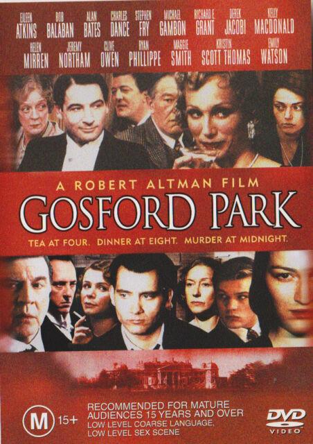 """Gosford Park""Maggie Smith, Ryan Phillippe, Michael Gambon Drama"