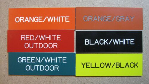 10x12 Custom Personalized Engraved Plastic Sign