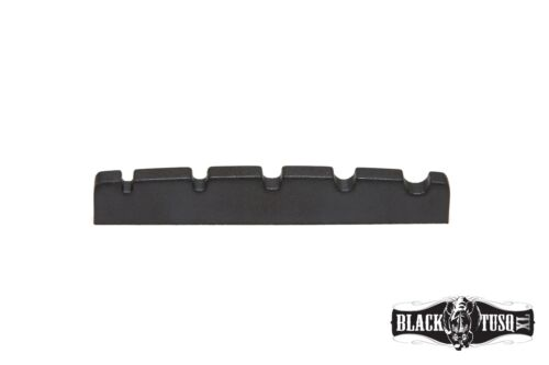 "Graph Tech Black Tusq XL PT-1425-00 5 String Slotted Bass nut 1//8/"" width NEW"