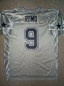 REEBOK-Dallas-Cowboys-TONY-ROMO-nfl-Football-Jersey-Adult-MEN-MENS-MEN-039-S-xl