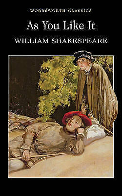 As You Like It by William Shakespeare (Paperback, 1993) Cheap Book Free Post