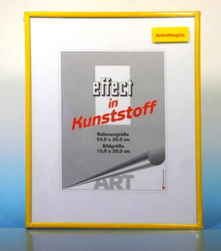 200269 Art effect in Kunststoff Bilderrahmen  24x30cm  Rahmen Antireflex