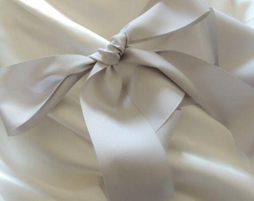 "Bridal Wedding Sash Romantic Luxe Grosgrain Taffeta Matte Finish 50mm 2/"""