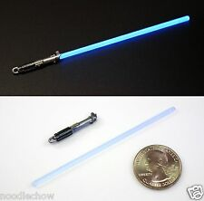 "Custom Cast LUKE BLUE LIGHTSABER Star Wars Black Series Anakin Rey - 6"" scale"