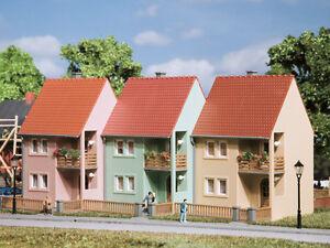 Auhagen-13273-voie-TT-Maisons-mitoyennes-neuf-emballage-d-039-origine