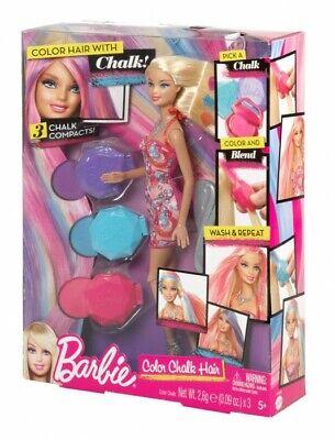 Sensibile Barbie Colore Capelli Gesso Bambola Da Mattel Y7450 Nuovo-mostra Il Titolo Originale Novel (In) Design;