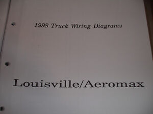 GC 1998 Ford Truck LOUISVILLE AEROMAX Electrical Wiring ...