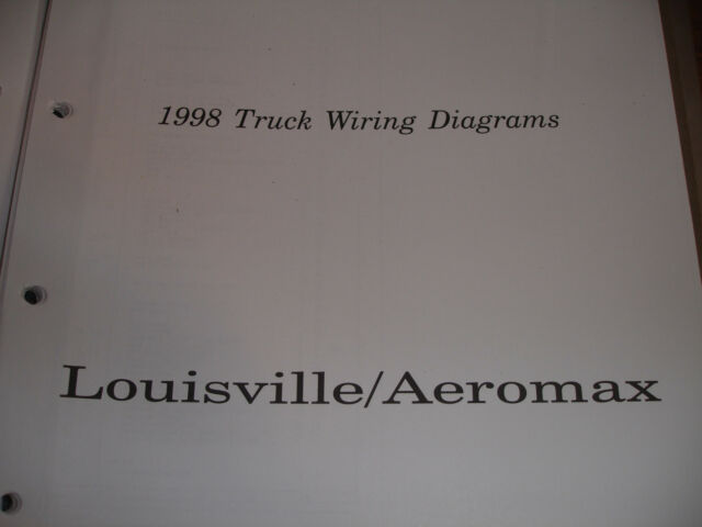 Gc 1998 Ford Truck Louisville Aeromax Electrical Wiring