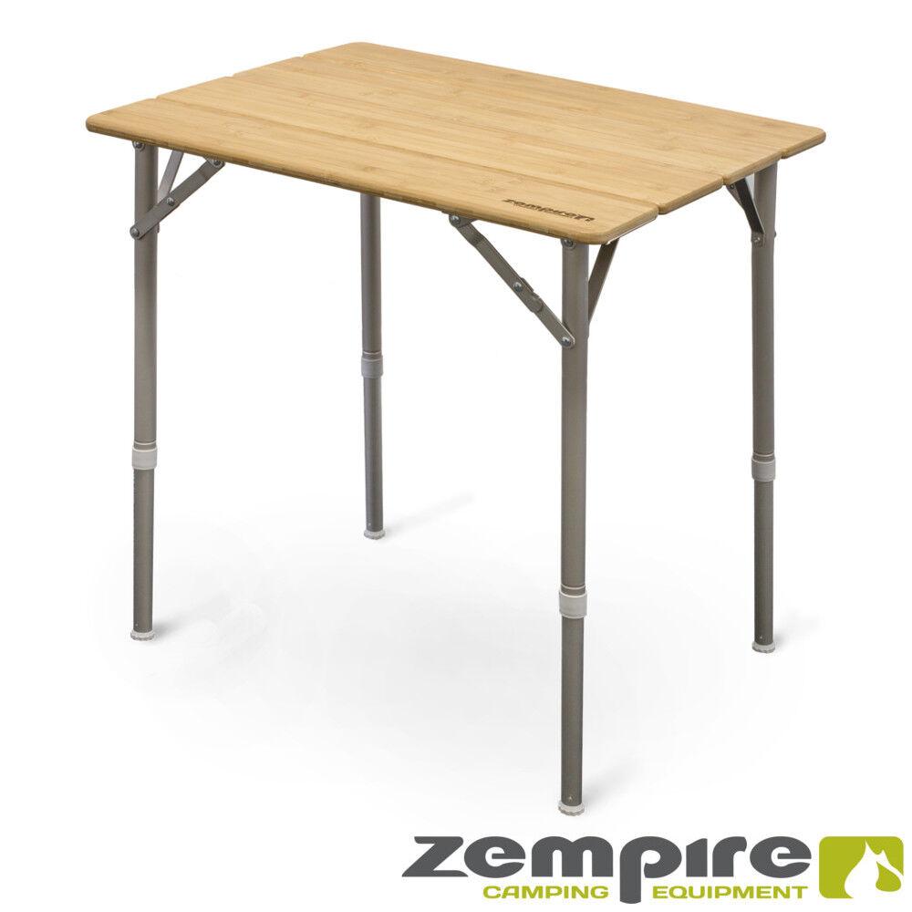 Design Campingtisch Bambusplatte Klapptisch Falttisch Tisch Flaschenöffner