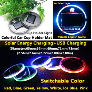 Image Is Loading 1pcs Solar Led Car Part Lamp Atmosphere Lamps
