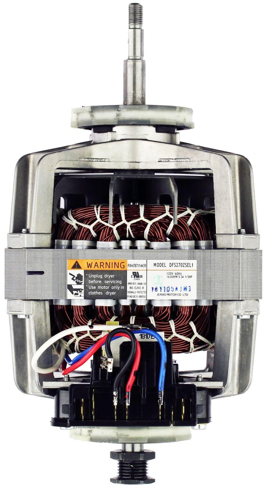 Induction Dryer Motor for Samsung Part # DC31-00055G