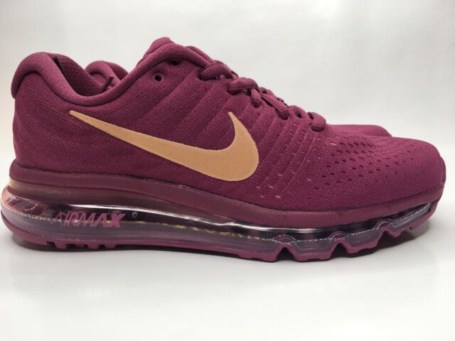 Nike Air Max Sequent 2 Trainers Berry UK 7.5 EU 42 Js49 29