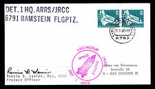 1982 LAUNCH COLUMBIA STS-5 DET.1HQ.ARRS/JRCC - SIGNED BY PROJECT OFFICER(E#2676)