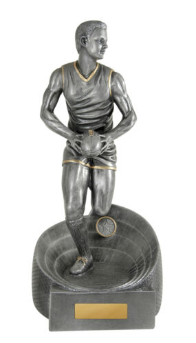 Aussie Rules Football Male Figurine 375mm Engraved FREE