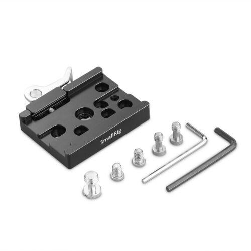 "compatible 3//8/"" -16 roscada Arca-tipo 1//4/"" -20 Smallrig abrazadera de liberación rápida"