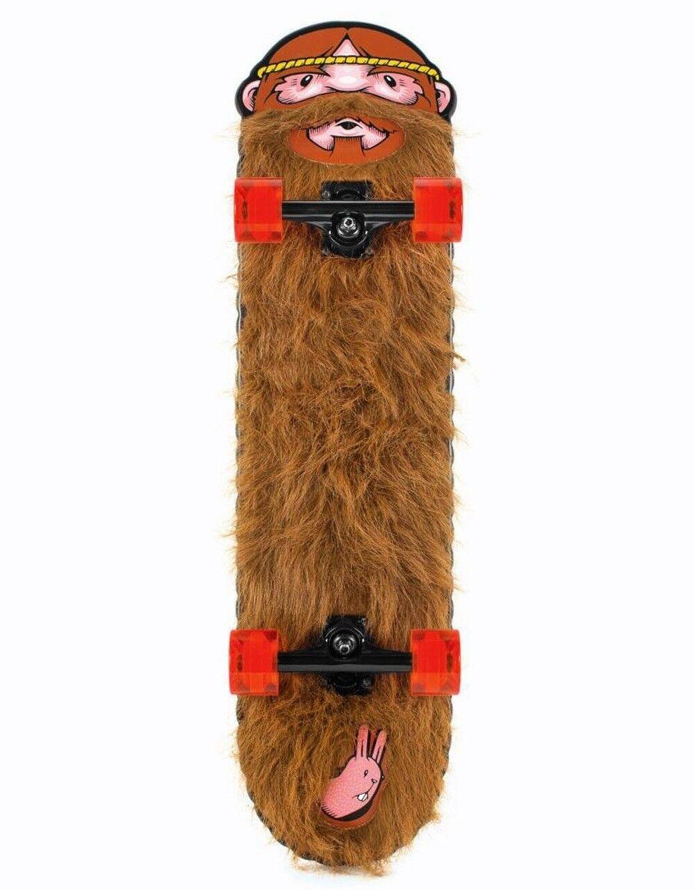 SANTA CRUZ Jeremy Fish Weird Beard Ltd Complete Skateboard, mehrfarbig, 8.56