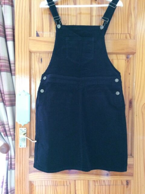 Blue Pinafore Size 14