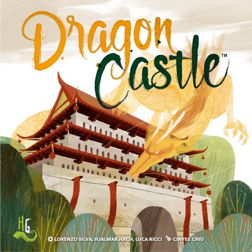 Dragon Dragon Dragon Castle Boardgame New by Horrible Games Multilingual Edition 76b8d1