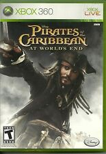PRE-OWNED XBOX 360 GAME - PIRATES OF THE CARIBBEAN AT WORLD'S END - GREAT SHAPE