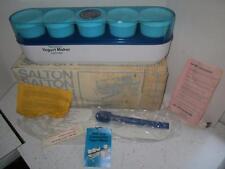 SALTON Yogurt Maker Thermostat Controlled Glass Jars Homesteading MINT N BOX YM4