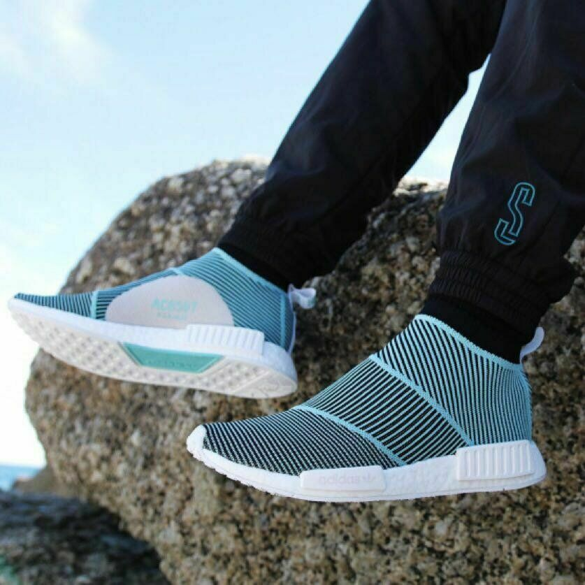 huge selection of a1ceb 870fe Adidas x PARLEY CS1 City Sock PRIMEKNIT PK NMD BOOST Men's Shoes AC8597