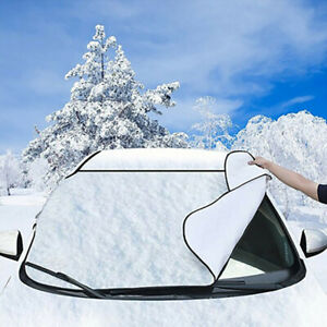 Magnetic-Car-Windshield-Snow-Cover-Winter-Ice-Frost-Guard-Sunshade-Protector-PYB
