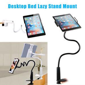Image is loading Universal-Flexible-Arm-Desktop-Bed-Lazy-Holder-Mount-