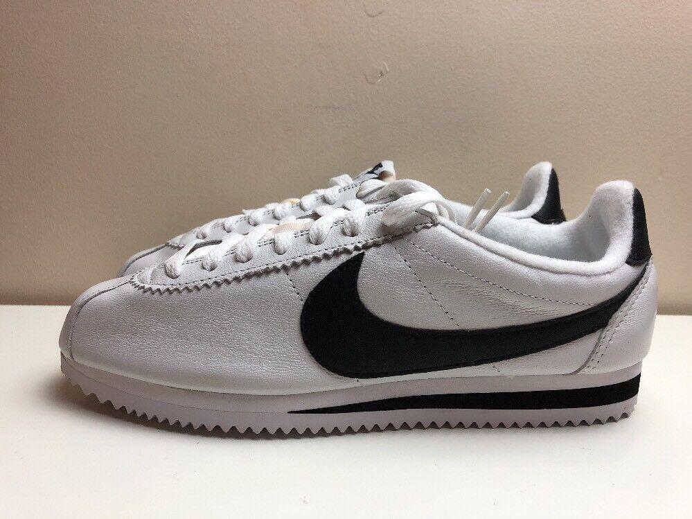 Nike Nike Nike Classic Cortez Premium zapatos blanco negro 807480 101 el mas popular de zapatos para hombres y mujeres 6d6838