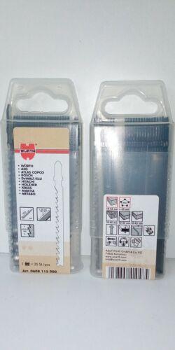 Art-Nr 0608115900 1x25 Würth Stichsägeblätter 75 mm für Holz 25 Stück