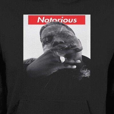 "BIGGIE SMALLS /""NOTORIOUS/"" SUPREME WINTER HOODIE OLDSKOOL  Shirt *MANY OPTIONS*"