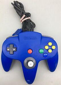 Nintendo-64-NUS-005-Controller-Blue-fast-ship-B41