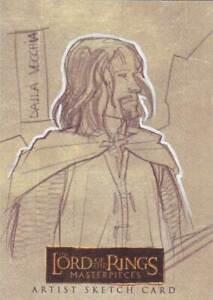 Lord-of-the-Rings-LOTR-Masterpieces-sketch-Dalla-Vecchia-Aragorn